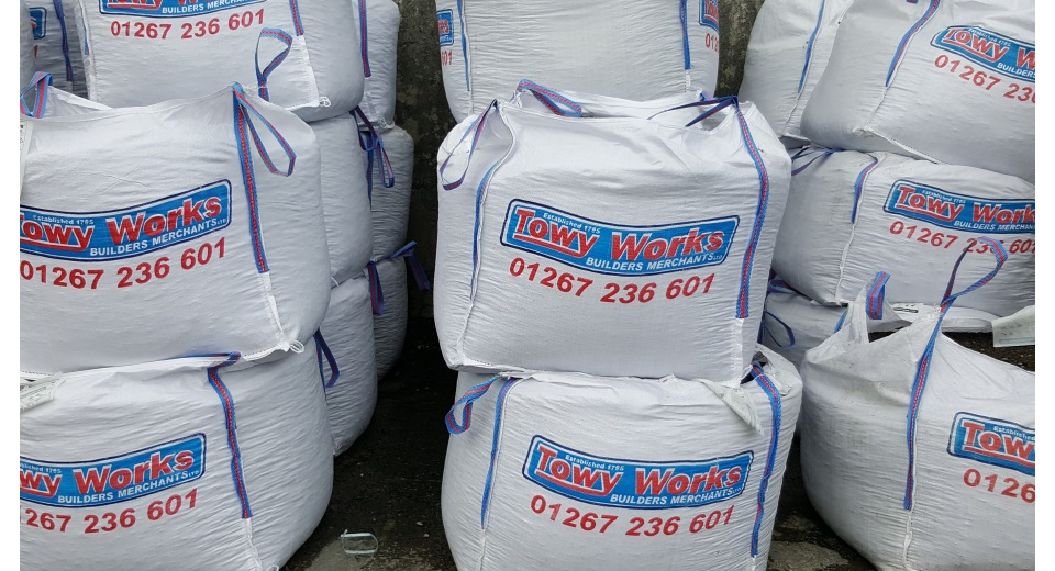bags of aggregate 960 x520