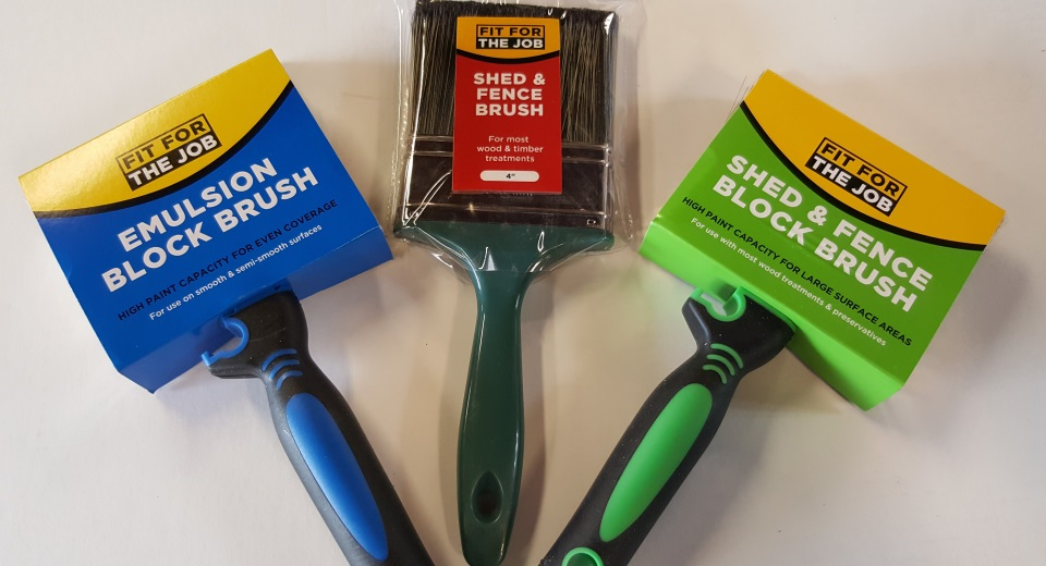 fit for the job brushes