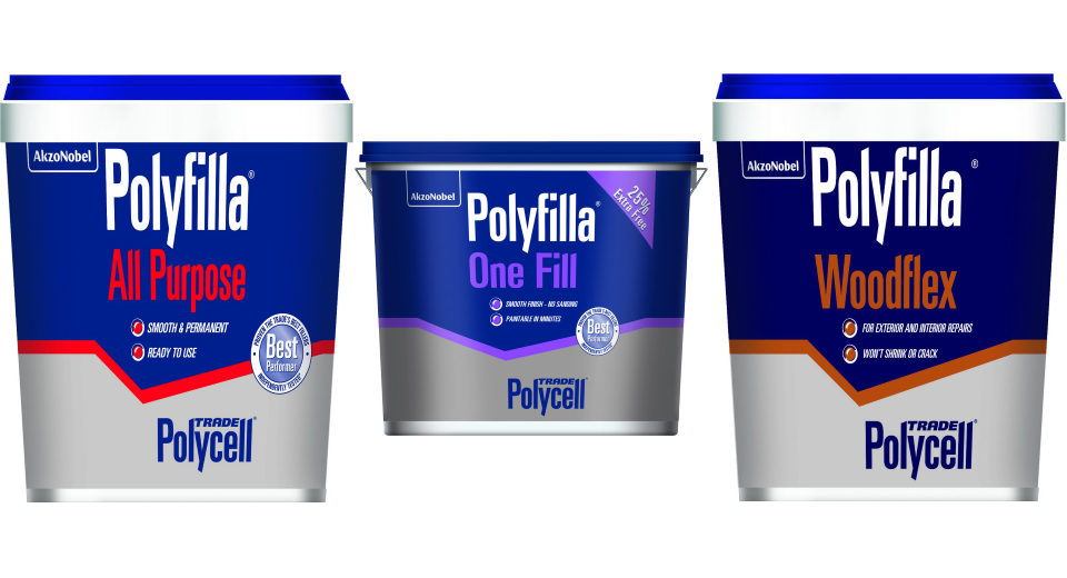 Polyfilla-website